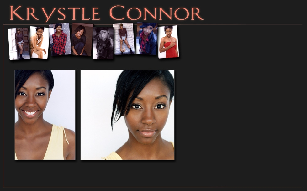 Krystle Connor Official Head Shots